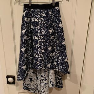 Anthropologie high low skirt